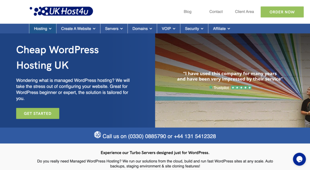 UKHost4U WordPress Hosting