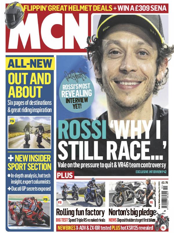great magazines MCN magazine