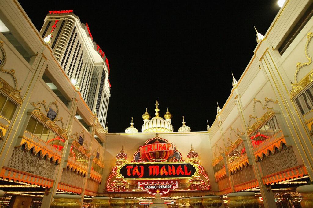 Donald Trump Taj Mahal Casino Atlantic City