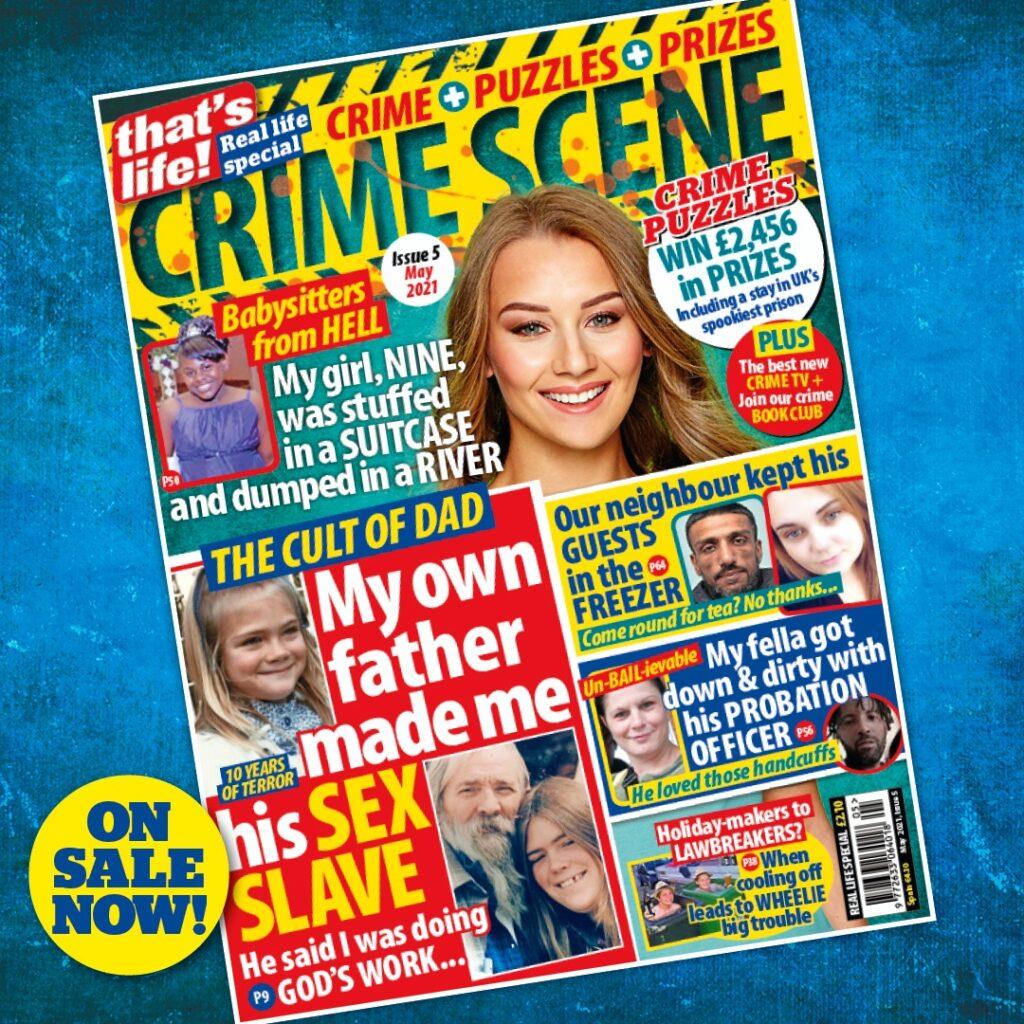 great magazines That's Life! Crime Scene magazine