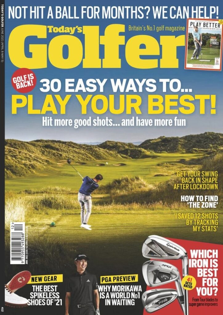 great magazines today's golfer magazine