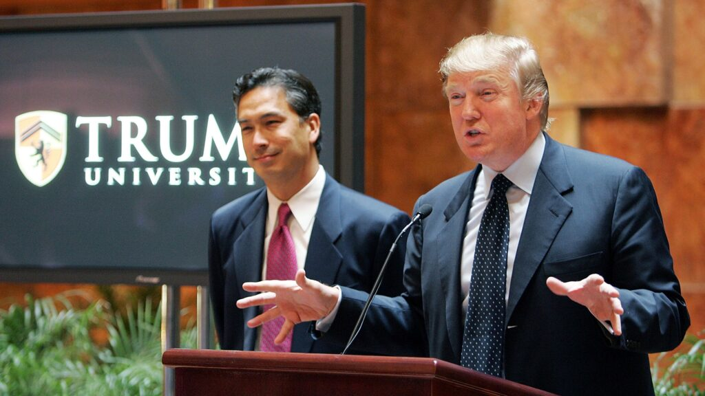 Donald Trump at Trump University