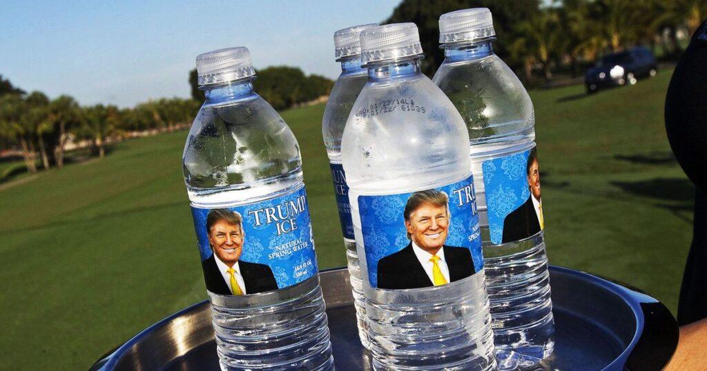 Trump Ice - Natural Spring Water